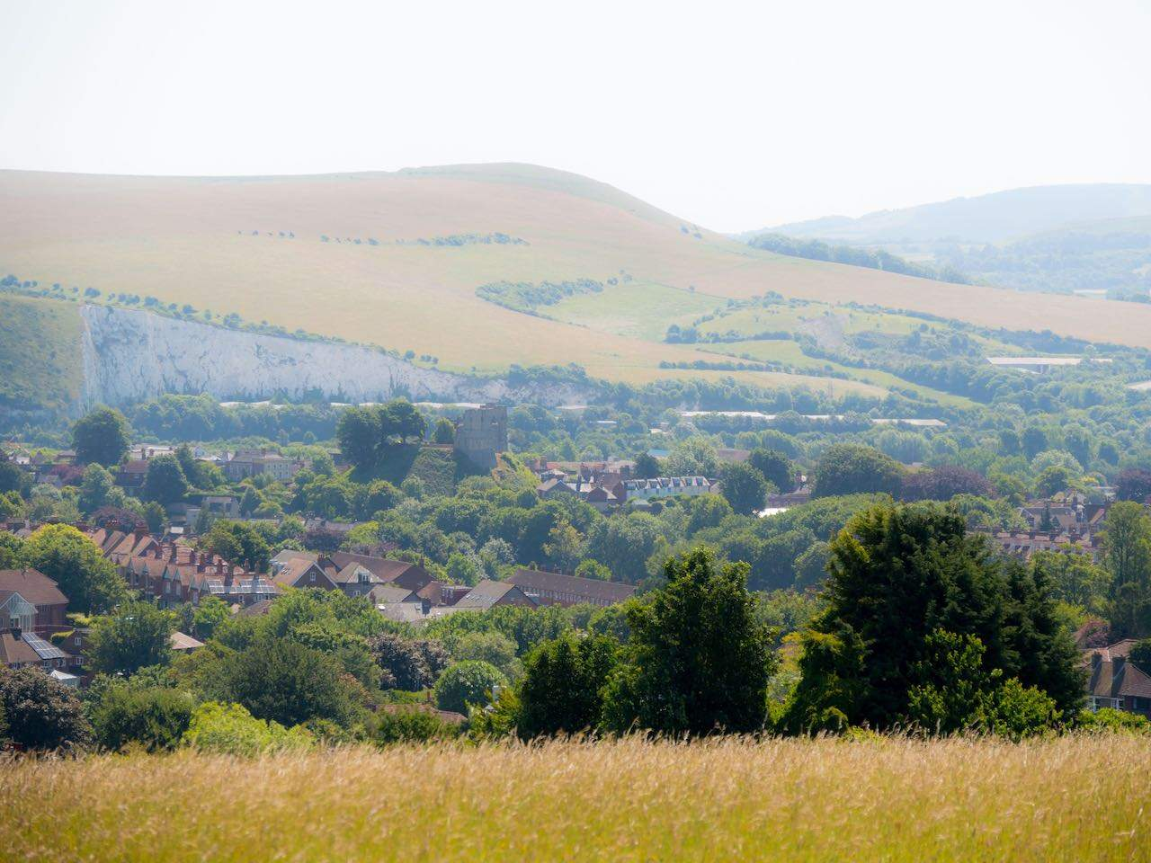 Sussex Downs by Lewes